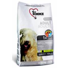 1st Choice Adult сухой корм для взрослых собак гипоаллергенный с уткой и картофелем 2,72 кг (6 кг) (12 кг)