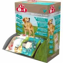 8 в 1 Делайт XS 1шт. косточка с курицей и минералами для мелких собак.