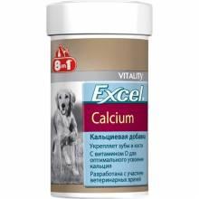 8 в 1 Эксель Кальций 880 таб. добавка для щенков и взрослых собак, содержащая кальций, фосфор и витамин D3
