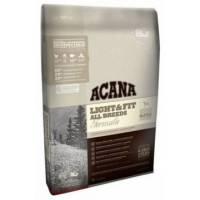 Acana Heritage Light & Fit для собак с избыточной массой тела с цыпленком и индейкой 2 кг  (11,4 кг)