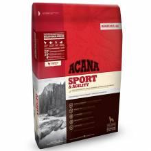 Acana Heritage Sport & Agility для взрослых собак с высоким уровнем активности с курицей 11,4 кг (17 кг)