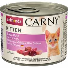 Консервы Animonda Carny Kitten Baby-Pate паштет для котят - 200 гр х 6 шт