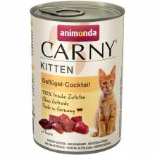 Консервы Animonda Carny Kitten коктейль из мяса курицы для котят - 400 гр х 6 шт