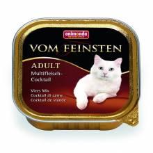 Animonda Консервы Vom Feinsten Adult коктейль из разных сортов мяса для взрослых кошек - 100 г х 32 шт