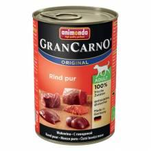 Консервы Animonda Gran Carno Original Adult с говядиной для взрослых собак - 400 гр х 6 шт
