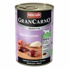 Animonda GranCarno Sensitiv / Анимонда Гран Карно Сенситив с ягненком для чувствительных собак - 400 гр х 6 шт