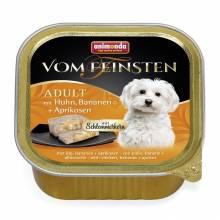 Консервы Animonda Vom Feinsten Adult Меню для гурманов с курицей, бананом и абрикосами для взрослых собак - 0,15 кг х 32 шт