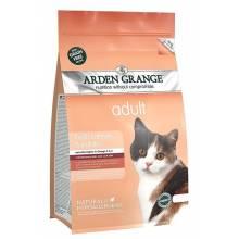 Arden Grange Adult Fresh Salmon & Potato беззерновой с лососем и картофелем для кошек 2 кг (4 кг)