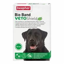 Ошейник Beaphar Bio Band Veto Shield для собак и щенков с 2 месяцев от блох на натуральных маслах зеленый 65 см