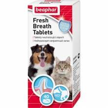 Средство Beaphar Fresh Breath Tablets для животных от запаха пасти - 40 таблеток