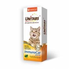 Unitabs ImmunoCat витаминная паста для кошек для поддержания иммунитета - 120 мл