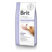 Brit VDD Gastrointestinal сухой беззерновой корм для взрослых собак при остром и хроническом гастроэнтеритах с сельдью 2 кг (12 кг)