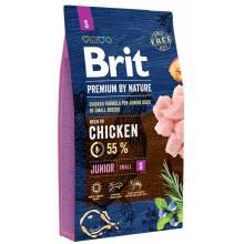Brit Premium by Nature Junior S сухой корм для щенков и молодых собак (4-12 месяцев) мелких пород 1 кг (3 кг) (8 кг)