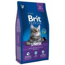 Brit Premium Cat Senior cухой корм для пожилых кошек 1,5 кг (8 кг)