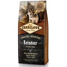 Carnilove «Мясо северного оленя» сухой корм для взрослых собак всех пород - 1,5 кг (12 кг)