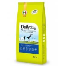 DailyDog Adult Medium and Large Fish and Potatoes - сухой корм для взрослых собак средних и крупных пород с чувствительной кожей с рыбой и картофелем - 3 кг (12 кг) (20 кг)