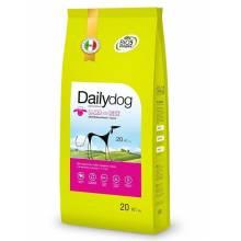 DailyDog Adult Medium Breed lamb and rice корм с ягненком и рисом для взрослых собак средних пород 3 кг (12 кг) (20 кг)