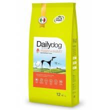 Dailydog Adult Small Breed сухой корм для взрослых собак мелких пород с индейкой и ячменем 1,5 кг (3 кг) (12 кг)