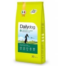 Dailydog Puppy Large Breed сухой корм для щенков крупных пород с курицей и рисом - 3 кг (12 кг) (20 кг)