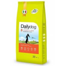 DailyDog Puppy Medium Breed turkey and rice сухой корм с индейкой и рисом для щенков средних пород 3 кг (12 кг) (20 кг)