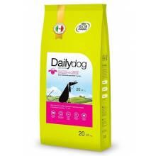 Сухой корм Dailydog Senior Medium Large Breed Lamb and Rice для пожилых собак средних и крупных пород с ягненком и рисом - 12 кг