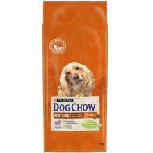 Dog Chow Mature Adult - сухой корм для взрослых собак старше 5 лет с ягненком - 14 кг