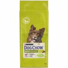 Dog Chow Adult Lamb & Rice для взрослых собак любой породы, с ягненком и рисом 14 кг