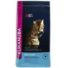 Eukanuba Cat Senior для пожилых кошек с курицей и печенью 400 гр (2 кг)