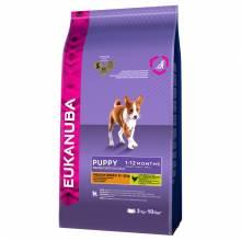 Eukanuba Puppy Medium Breed Сухой корм для щенков средних пород с курицей 3 кг (15 кг)