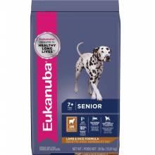 Eukanuba Mature & Senior All Breeds Lamb & Rice - корм для пожилых собак с ягнёнком и рисом 2,5 кг (12 кг)