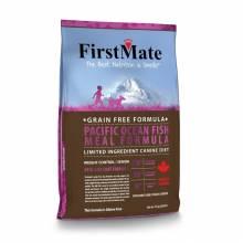 FirstMate Pacific Ocean Fish Meal Weight Control сухой беззерновой низкокалорийный корм для пожилых собак и собак, склонных к ожирению 2,3 кг (6,6 кг, 13 кг, 20 кг)