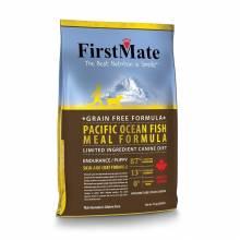 FirstMate Pacific Ocean Fish Meal Endurance/Puppy сухой беззерновой корм для щенков и взрослых собак с высокой активностью с рыбой 2,3 кг (13 кг, 20 кг)