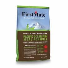 FirstMate Pacific Ocean Fish Meal Large Breed сухой беззерновой корм для взрослых собак крупных пород с рыбой 13 кг (20 кг)