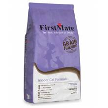 FirstMate Indoor Cat сухой низкозерновой корм для домашних котят и кошек 2,3 кг (6 кг)