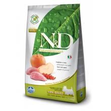 Farmina N&D сухой корм для взрослых собак мелких пород с мясом кабана и яблоком 0,8 кг (2,5 кг) (7 кг)