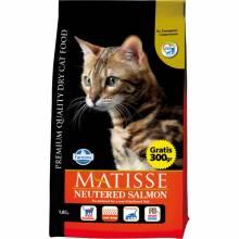 Farmina Matisse Neutered Salmon сухой корм для взрослых кастрированных котов и стерилизованных кошек с лососем - 1,5 кг