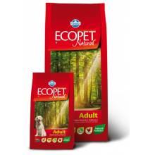 Farmina Ecopet Natural Adult сухой корм с курицей для взрослых собак всех пород - 12 кг