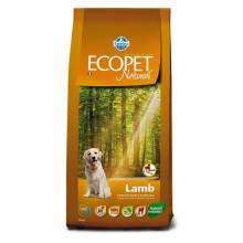 Farmina Ecopet Natural Lamb Maxi сухой корм с ягненком для взрослых собак крупных пород с чувствительным пищеварением и аллергией - 12 кг