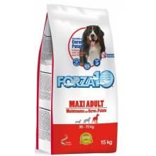 Forza10 Maintenance для взрослых собак крупных пород с олениной и молодым картофелем - 15 кг