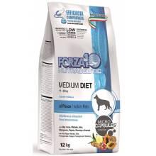 Forza10 Medium Diet для взрослых собак средних пород при аллергии из рыбы с микрокапсулами 1,5 кг (12 кг)