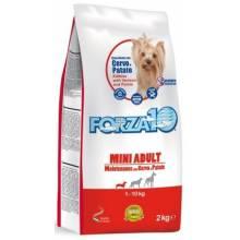 Forza10 Maintenance для взрослых собак мелких пород из оленины с картофелем - 2 кг