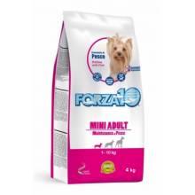 Forza10 Maintenance для взрослых собак мелких пород из океанической рыбы (тунец, треска, лосось) 2 кг (4 кг)