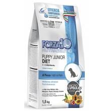 Forza10 Puppy Junior Diet сухой корм для щенков и собак в период беременности и лактации при аллергии из рыбы - 1,5 кг