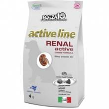 Forza10 Active Line для взрослых собак всех пород при острой и хронической почечной недостаточности, хронической сердечной недостаточности - 4 кг