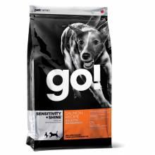 GO! Sensitivity + Shine сухой корм для щенков и собак с чувствительным пищеварением с лососем и овсянкой 2,72 кг (5,45 кг) (11,35 кг)