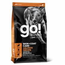 GO! Skin + Coat Salmon сухой корм для щенков и собак со свежим лососем и овсянкой 1,59 кг (5,45 кг), (11,3 кг)