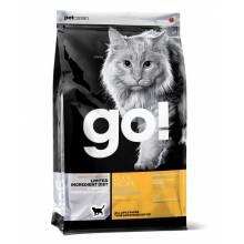 GO! Sensitivity + Shine GF беззерновой корм для котят кошек со свежей уткой 1,82 кг (3,63 кг) (7,26 кг)