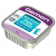 Gemon Cat Sterilised для кошек паштет с тунцом 32 шт х100 гр