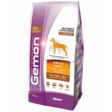 Gemon Maxi Adult Chicken and Rice сухой корм для собак крупных пород с курицей и рисом 15 кг