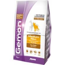 Gemon Medium Adult Chicken and Rice сухой корм для собак средних пород с курицей и рисом 3 кг (15 кг)